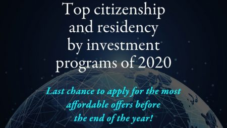"""Register for our final webinar of the year: """"Top Citizenship and Residency by Investment Programs of 2020"""" with Victoria Vella, managing director of GLS Private Office"""